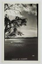 Rppc Moonlight in Minnesota Beautiful Lake Scene Postcard O13 - $12.95