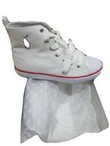 Polo Ralph Lauren Junior's Harbour Hi 990963 B White (Msrp: $60) Size 5.5 - $28.71