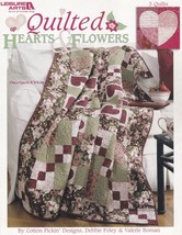 Quilted Hearts & Flowers, Leisure Arts Quilting Pattern Book 3768 NEW 3 ... - $5.95