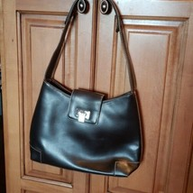 Liz Claiborne Dark Brown Purse Handbag - $17.99