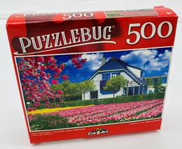 Dutch Farmhouse in Tulips Fields, Leiden, Netherlands - Puzzle - 500 Pcs... - $5.74