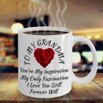 Birthday Love Gift For Grandma Grandmother Women Mom Her Color Changing Mug - $22.76