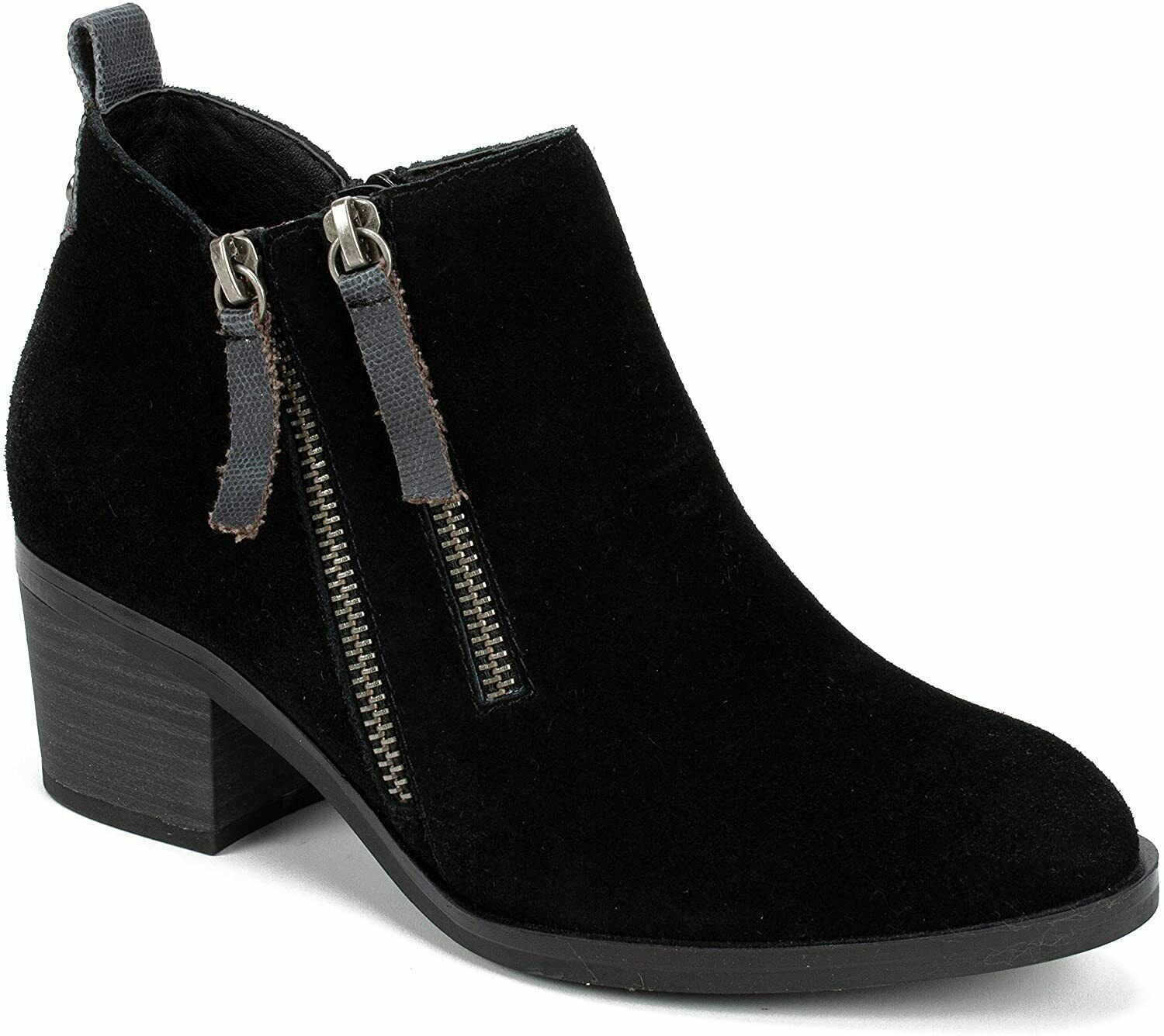Womens White Mountain Sienna Ankle Boots - Black/Suede, Size 8.5 M US - £59.39 GBP