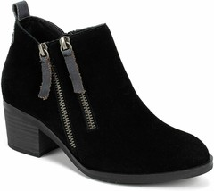 Womens White Mountain Sienna Ankle Boots - Black/Suede, Size 8.5 M US - £61.30 GBP