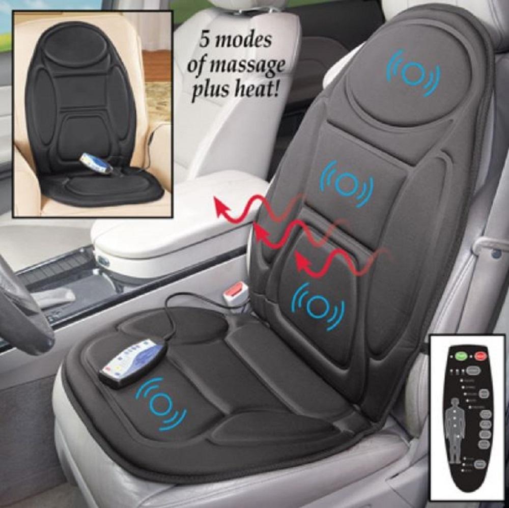 Vibrating Car Seat Cushion Massage Heat And 50 Similar Items