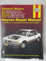 Haynes 38025 Repair Manual GM Skylark Somerset Achieva Calais Grand AM 1985-98 - $3.99