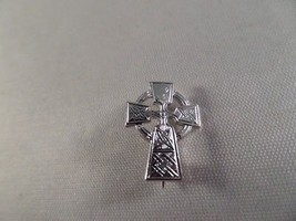Sterling Celtic Cross Brooch M1 - $6.92
