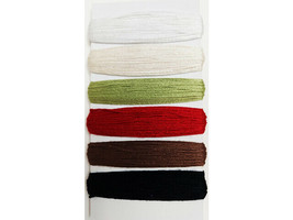 Bazzill Basics Paper 100% Cotton Embroidery Thread, Set of 6 image 2