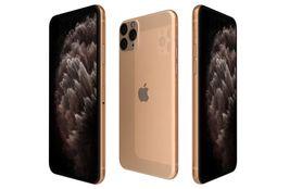 Apple iphone 11 pro gold 3d model max  obj mtl 3ds fbx c4d lwo lw lws thumb200