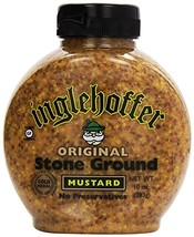 Inglehoffer Stone Ground Mustard, 10 Ounce Squeeze Bottle - $9.20