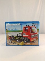 New 2012 Playmobil City Action 5283 Flatbed Construction Truck Building ... - $35.52