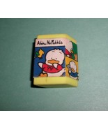 Sanrio Ahiro No Pekkle 90's Eraser in Case Vintage 1994 On The Road DUCK - $6.00