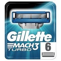Gillette mach3 turbo rakblad 6 st 1 1 thumb200