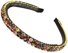 Luxury Diamond Antislip Dead Hoop Wide-Brimmed Crystal Comfortable Hair Band