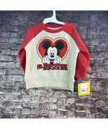 Disney Mickey Mouse 12 Month  Mr. Irresistible Red Top - $9.34