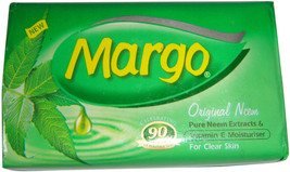 2 p X 75 gm  Margo Neem Soap with active Neem Oil WITH FREE SHIPPING - $6.78