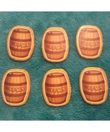 CATAN JUNIOR JR Board Game Lot of 6 MOLASSES Game replacement parts pieces - $6.79