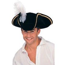 Rubie's Costume Buccaneer Tricorn Hat Multicolor One Size - $14.91
