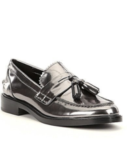 COACH Izabella Metallic Mirror Loafers Sgoes Size 6 MSRP: $195.00 - $128.69