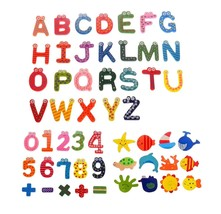 Comfysail 53Pcs Refrigerator Magnets Stickers;24pcs A-Z Alphabet Letter;... - $12.63