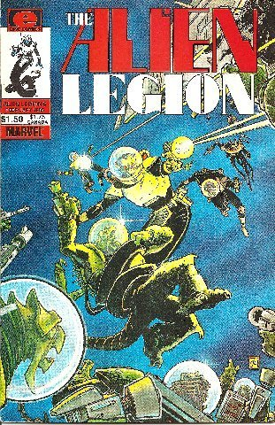 Alien Legion #6 (Volume 1) [Comic] [Jan 01, 1985] Alan Zelenetz; Frank Cirocco a