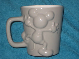 Disney Store Mickey Mouse CUP/ Mug. Brand New. Color Gray. - $18.47