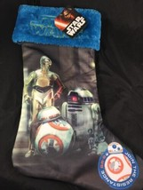 "Star Wars Holiday Christmas Droid Stocking 18"" Brand New embroidered top - $15.00"