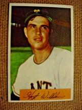 1954 Bowman Baseball Card of #57 Hoyt Wilhelm-vg - $12.00