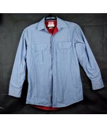 Westex Roban FR-7A Flame Resistant Shirt blue long sleeve Made in USA si... - $34.84