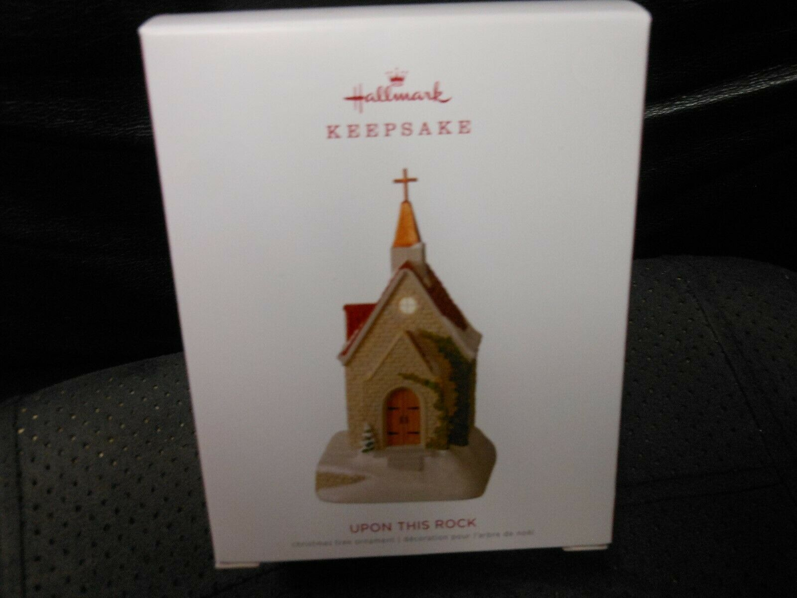 "Hallmark Keepsake ""Upon This Rock"" 2018 Ornament NEW"