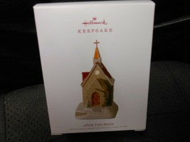 "Hallmark Keepsake ""Upon This Rock"" 2018 Ornament NEW - $7.67"