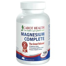 Cabot Health HD Magnesium Complete 100 Tablets