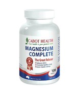 Cabot Health HD Magnesium Complete 100 Tablets - $73.56