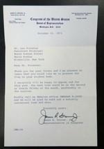 New York Congressman James Grover Autograph - Signed Congressional Lette... - $34.65