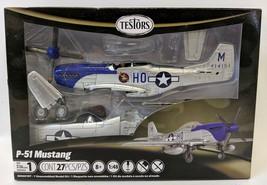 2011 TESTORS P-51 Mustang 1:48 Scale Model Kit, SEALED! Skill level 1 - $20.00