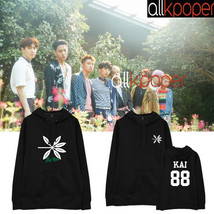 KPOP EXO Cap Hoodie THE WAR Hoody Pollover Sweatershirt Sweater 2017 New... - $19.99