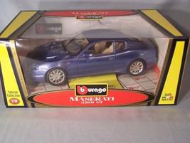 Maserati 3200 GT 1:18 scale diecast Burago Bburago Special Collection (Blue) - $41.47