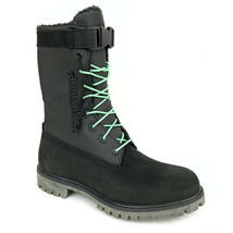 "Timberland Men's 6"" Fleece Lined Black Leather Waterproof Gaiter Boots A... - €156,78 EUR"
