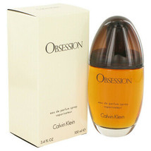 OBSESSION by Calvin Klein Eau De Parfum Spray 3.4 oz (Women) - $34.64