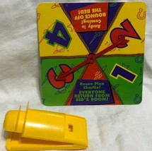 Game Parts Pieces Toy Story Toys Awaaaay! 1996 Mattel Spinner Launcher - $8.81