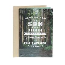 Hallmark Birthday Card for Son Woodland Trail - $3.76