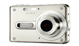 Casio EX-S100 EXS100 Silver Digital Camera Used In Very Good Working Condition - $26.93