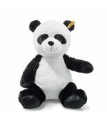Steiff Soft and Cuddly Ming Plush Stuffed Panda Bear Button in Ear - 12 ... - $27.40