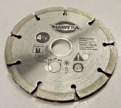 "Hawera HWD4510B 4 1/2"" Sand Tip Diamond Saw Blade For Mortar & Grout Rem... - $12.87"