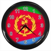 Eritrea Flag Wall Clock - $18.61