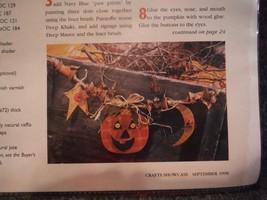 Halloween Garland Woodworking Craft Pattern - $1.23