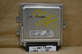 2007-2008 Hyundai Tiburon 2.0L Engine Control Unit ECU 3913023712 Module... - $49.49
