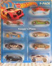 Mattel Hot Wheels 2014 Cars 9 Count Gift Pack Hard To Find New In Package - $12.00
