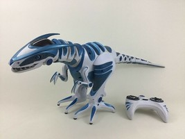 Roboraptor Blue Remote Control RC Interactive Dinosaur Robot Toy WowWee ... - $66.78