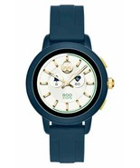 TORY BURCH TBT1002 NAVY BLUE SILICONE 42mm STRAP WOMEN'S TOUCHSCREEN SMA... - $197.00
